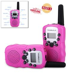 2X Kids Wireless Walkie Talkie Toys 22CH FRS/GMRS Two Way Ra