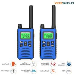 2x portable 22CH Walkie Talkies FRS/GMRS 462-467MHZ Two Way