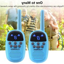 2X Portable Kids 9CH Walkie Talkies FRS/GMRS 462-467MHZ Two