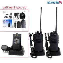 2xRetevis RT1 Walkie Talkies UHF 10W 3000mAh Scrambler VOX T