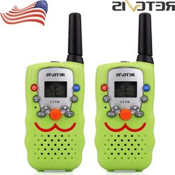 2xRetevis RT32 Walkie Talkies 22CH UHF Monitor LED Flashligh