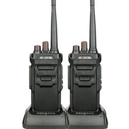 2XRetevis RT48 FRS IP67 Waterproof Walkie Talkies 2-Way Radi