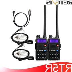 2XRetevis RT5R Dual Band FM radio VOX Scan Keypad Walkie Tal