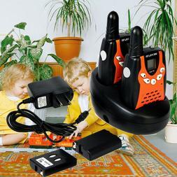 2XRetevis RT602 22CH Kids Walkie Talkie UHF 0.5W Flashlight