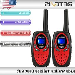 2x Retevis RT628 Kids Walkie Talkie UHF 22CH VOX 2Way Radio