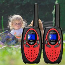 2xRetevis RT628 Kids Walkie Talkie UHF 22CH LCD Display 2Way