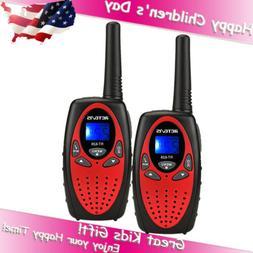 2xRetevis RT628 Kids Walkie Talkie UHF 22CH LCD Display 2Way