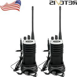 2X Retevis RT7 Walkie-Talkies UHF400-470MHz 16CH 5W VOX TOT