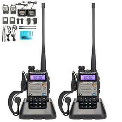 2x Baofeng UV-5XP 8W Walkie Talkie Police Fire Radio Two Way