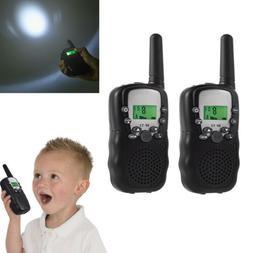 2x Walkie Talkie Set Long Range Two Way Ham Radio Kids Child