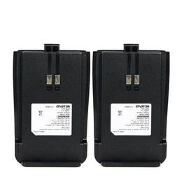 2x Original Retevis RT21 Radio Li-ion Battery Pack 1300mAh f