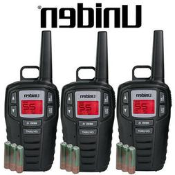 Uniden 3 Pack SX167-3CH 16 Mile Two Way Radio Walkie Talkies