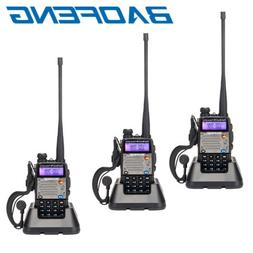 3 x BAOFENG UV-5XP 8W VHF/UHF Dual Band Two Way Radio Transc