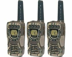Cobra 37-Mile Waterproof Rechargeable Camo Two-Way Radio Wal