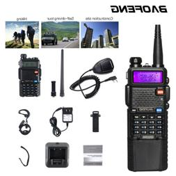 Baofeng UV-5R Walkie Talkies Two-way Radio Dual Band VHF UHF