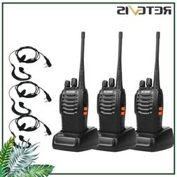 Retevis H777 Walkie Talkies Long Range Two Way Radio 16CH UH