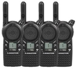4 Pack of Motorola CLS1110 Two Way Radio Walkie Talkies