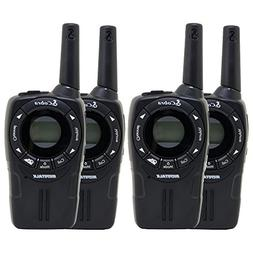 4 COBRA CXT235 MicroTalk 20 Mile FRS/GMRS 22 Channel Walkie