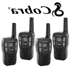 4 Pack Cobra 16 Mile Range FRS Two Way Radio Walkie Talkie S