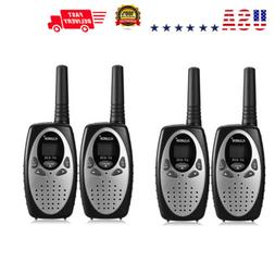 4-Pack 22 Channel Long Range Walkie Talkie Two-Way Radio 3KM