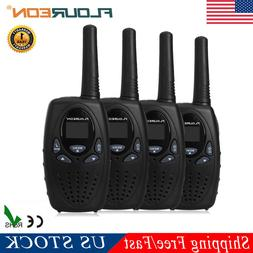 4 Pack FLOUREON 22CH Walkie Talkie Two-Way UHF 462-467MHz Ra