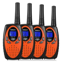4 Pack 22CH Walkie Talkies 2-Way Radio Interphone FRS/GMRS L