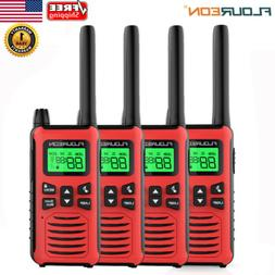4 Pack 22CH Walkie Talkies FRS/GMRS 462-467MHZ Handheld Two