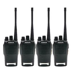 4 Pack Baofeng BF-777S Walkie Talkie 400-470 MHz Ham Two-Way