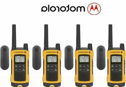 Motorola Talkabout T402 4 Pack Walkie Talkie 35 Mile Two Way