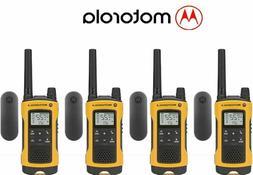 4 Pack Motorola Talkabout T402 Walkie Talkie 35 Mile Two Way