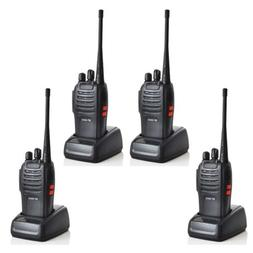 4 Pack Two-Way Radio BaoFeng BF-666S Walkie Talkie 16CH Inte