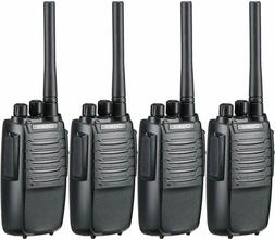 4 Pack Two Way Radio Long Range Handheld Walkie Talkies 1800