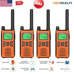 4 Pack Walkie Talkies 22 Channel Two Way Radio Up to 5000M R