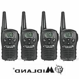 4 Pack Midland Xtra Talk LXT118 Two Way Radio Walkie Talkie
