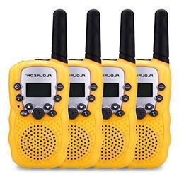floureon 4 Packs 22 Channel Walkie Talkies Two Way Radios 30