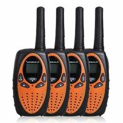 4 Packs Walkie Talkies Two Way Radios 22 Channel 3000M UHF H