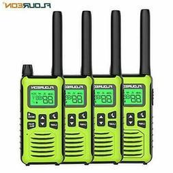 FLOUREON 4 Packs Walkie Talkies Two Way Radios 22 Channel 30