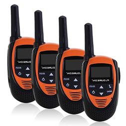 Floureon 4 Packs 22 Channel Walkie Talkies Two Way Radios 30