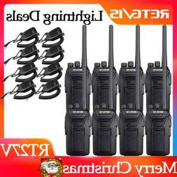 4*Retevis RT27 2-Way Radio VHF license-free MURS Handheld US