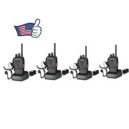 4 x Baofeng BF-888S Two Way Radio 400-470MHz Walkie Talkie S