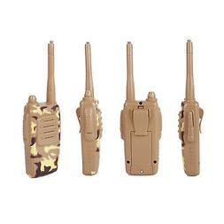 4Pack 73hams K-2 Camo Walkie Talkie Handheld Kids Long Range