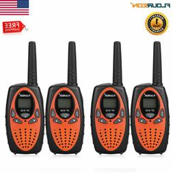 4Pack UHF462-467MHz Two-way Radio 22CH 3KM Long Range Walkie