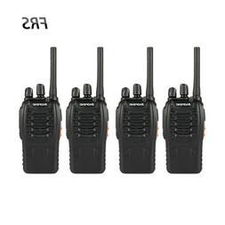 4Pcs Baofeng BF-88A FRS Walkie Talkie 462-467MHz 16CH Portab