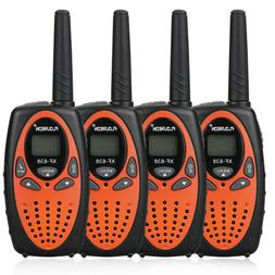 4PK FLOUREON 22 CH Twins Walkie Talkies FRS/GMRS 462-467MHZ