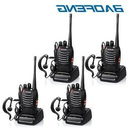 4x Baofeng BF-888S Two Way Radio Walkie Talkie UHF 400-470MH