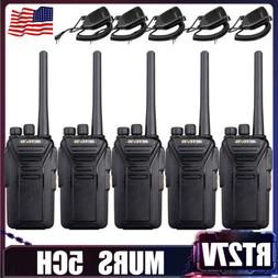 4XRetevis RT27 VHF MURS 2Way Radios VOX TOT License-free CTC