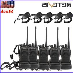 5* Retevis H777 Walkie Talkies UHF400-470MHz DCS/CTCSS FRS/G