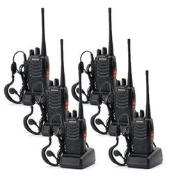 6 * Baofeng BF-888S Walkie Talkie 2 Two Way Radio Handheld L