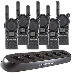 6 Motorola CLS1410 - UHF 1 Watt 4 Channel Radios & 1 Motorol