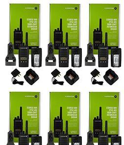6 NEW MOTOROLA RMU2080D UHF 2W 8CH BUSINESS RADIO LCD DISPLA